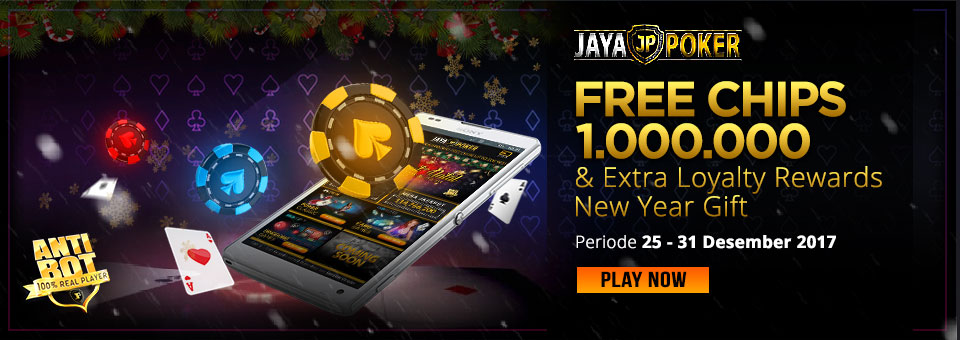 New Year Gift Free Chips 1.000.000 & Extra Loyalty Rewards