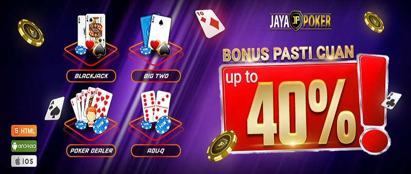 Bonus Pasti Cuan up to 40%